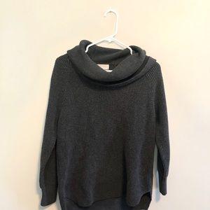 Michael Kors   waffle cowl neck sweater • m